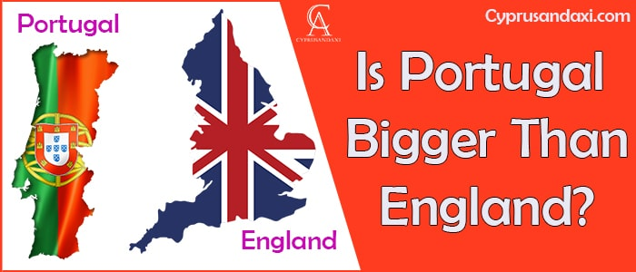 Is Portugal Bigger Than England