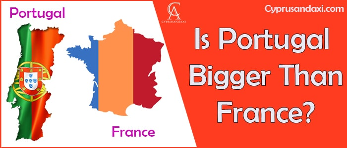 Is Portugal Bigger Than France