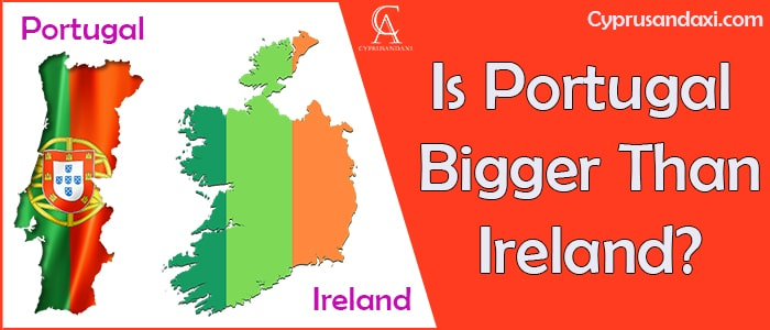 Is Portugal Bigger Than Ireland