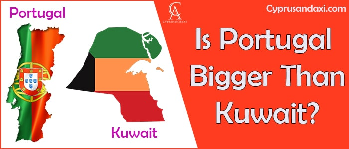Is Portugal Bigger Than Kuwait