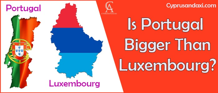 Is Portugal Bigger Than Luxembourg
