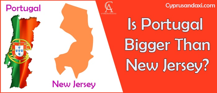 Is Portugal Bigger Than New Jersey