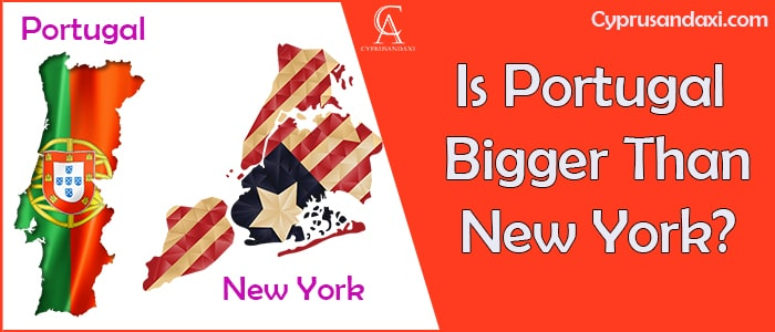 Is Portugal Bigger Than New York
