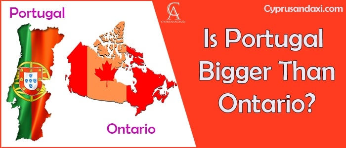 Is Portugal Bigger Than Ontario