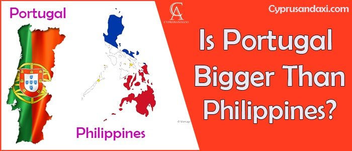 Is Portugal Bigger Than Philippines