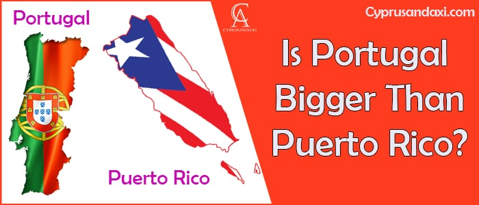 Is Portugal Bigger Than Puerto Rico