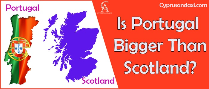 Is Portugal Bigger Than Scotland