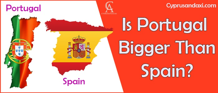 Is Portugal Bigger Than Spain