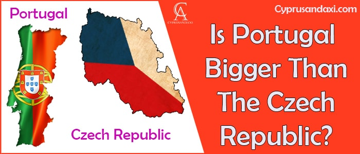 Is Portugal Bigger Than The Czech Republic