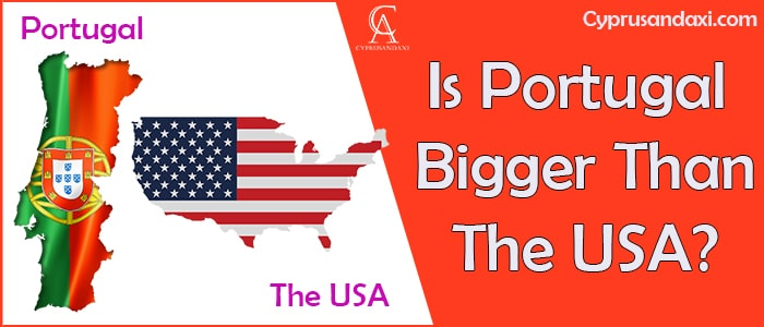 Is Portugal Bigger Than the USA