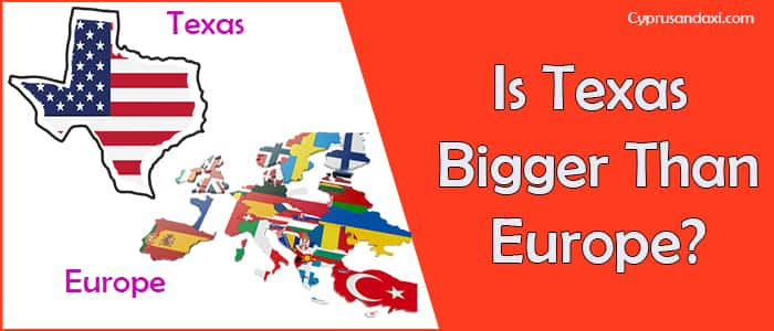 Is Texas Bigger than Europe