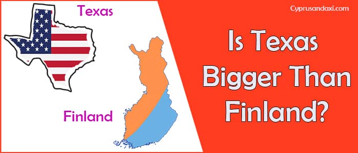 Is Texas Bigger than Finland