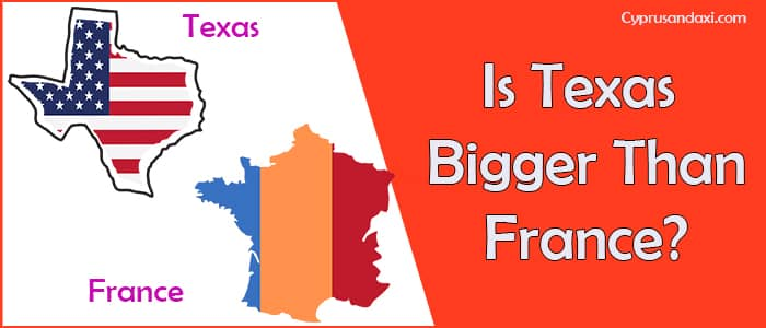 Is Texas Bigger than France