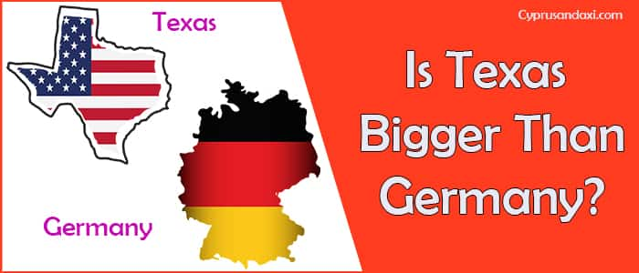 Is Texas Bigger than Germany