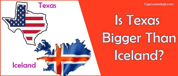 Is Texas Bigger than Iceland