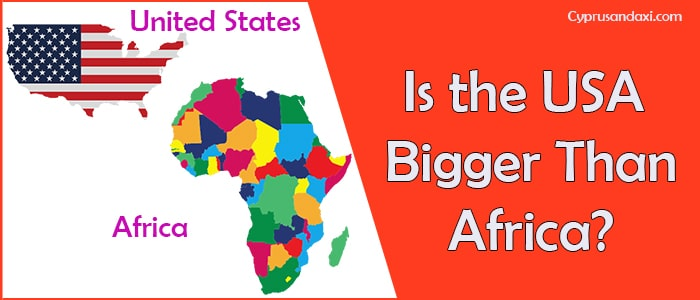 Is the United States of America Bigger Than Africa