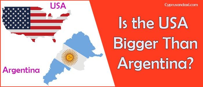 Is the United States of America Bigger Than Argentina