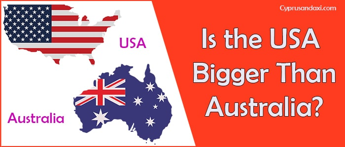 Is the United States of America Bigger Than Australia