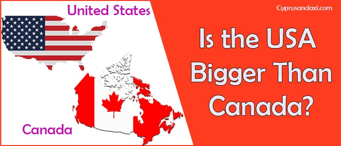 Is the United States of America Bigger Than Canada