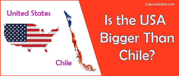 Is the United States of America Bigger Than Chile