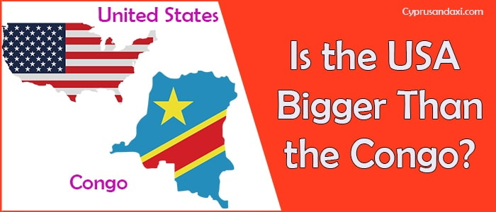 Is the United States of America Bigger Than Congo