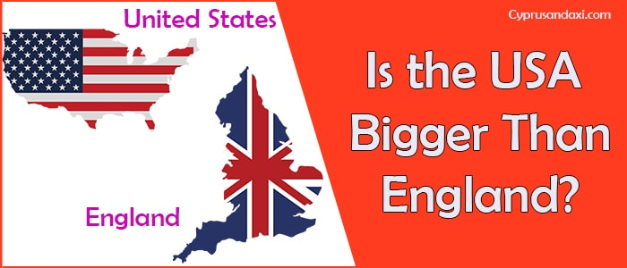 Is the United States of America Bigger Than England
