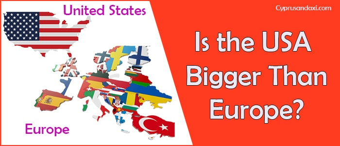 Is the United States of America Bigger Than Europe