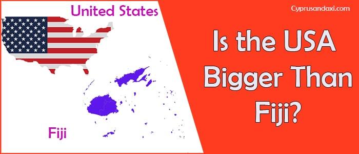 Is the United States of America Bigger Than Fiji