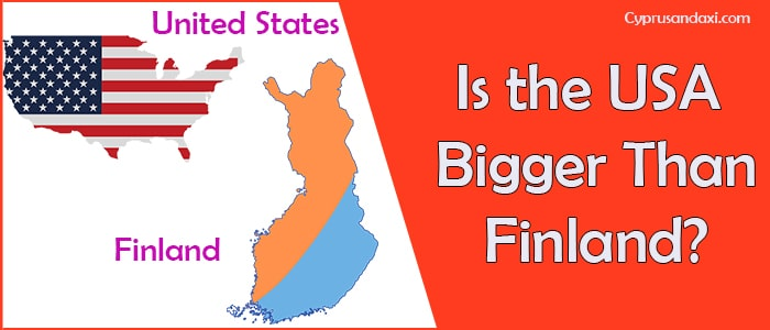 Is the United States of America Bigger Than Finland