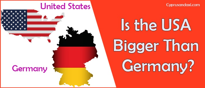 Is the United States of America Bigger Than Germany