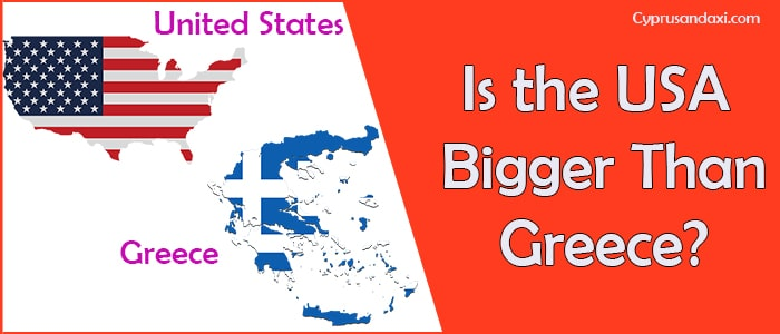 Is the United States of America Bigger Than Greece