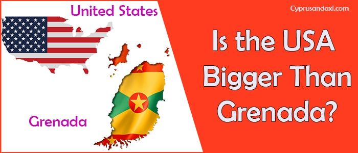 Is the United States of America Bigger Than Grenada