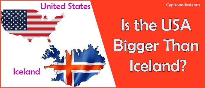 Is the United States of America Bigger Than Iceland