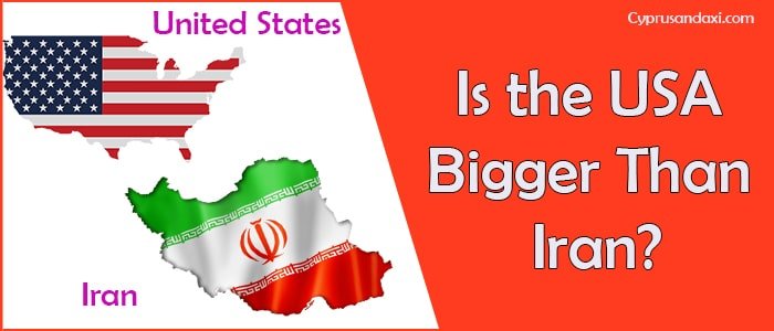 Is the United States of America Bigger Than Iran