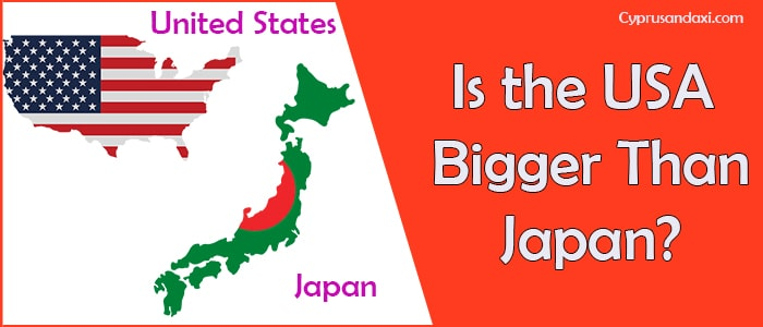 Is the United States of America Bigger Than Japan