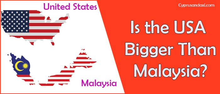 Is the United States of America Bigger Than Malaysia