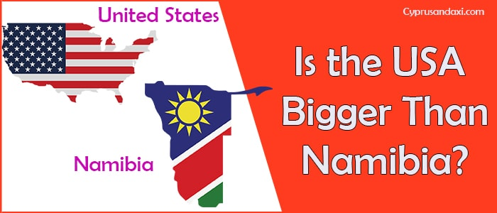 Is the United States of America Bigger Than Namibia