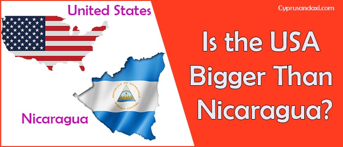 Is the United States of America Bigger Than Nicaragua