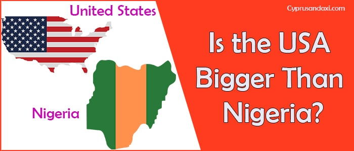 Is the United States of America Bigger Than Nigeria