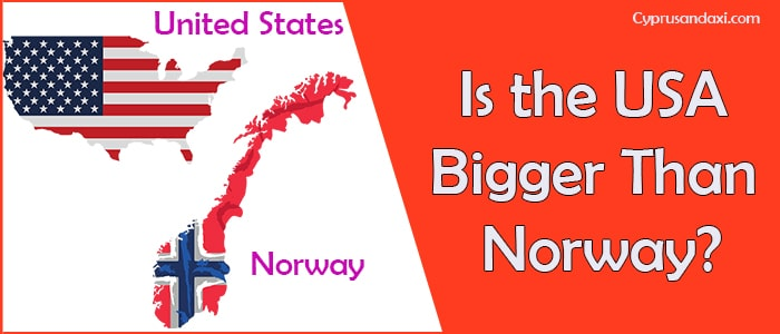 Is the United States of America Bigger Than Norway