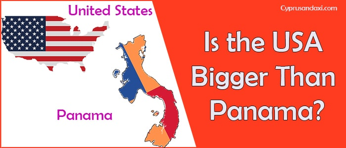 Is the United States of America Bigger Than Panama