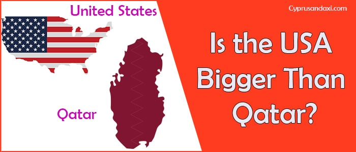 Is the United States of America Bigger Than Qatar