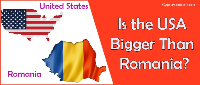 Is the United States of America Bigger Than Romania