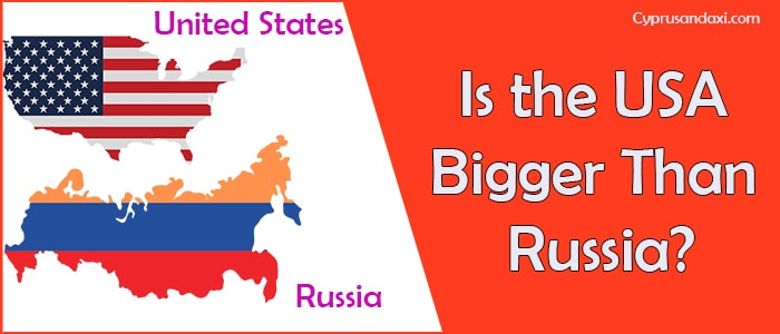 Is the United States of America Bigger Than Russia