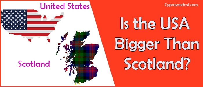 Is the United States of America Bigger Than Scotland