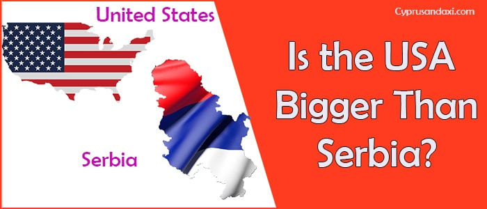 Is the United States of America Bigger Than Serbia