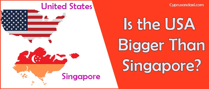 Is the United States of America Bigger Than Singapore