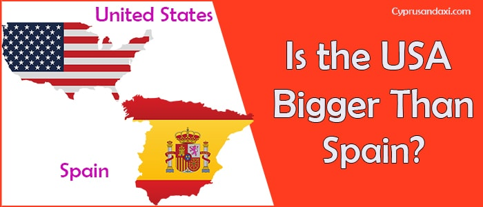Is the United States of America Bigger Than Spain