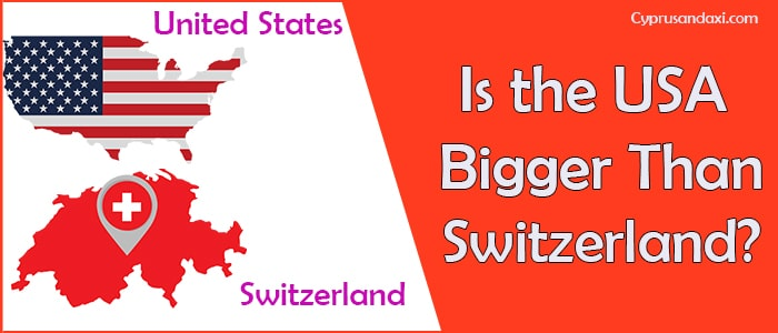 Is the United States of America Bigger Than Switzerland