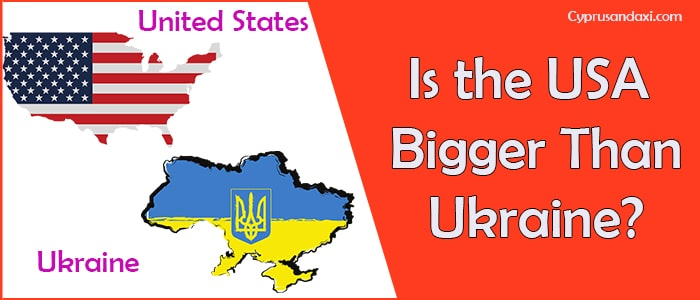 Is the United States of America Bigger Than Ukraine